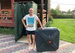Бак для летнего душа пластиковый 110 литров
